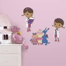 Doc Mcstuffin Room Decor Disney Junior Doc Mcstuffins 3d Peel And Stick Foam Décor