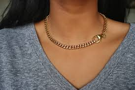 accessories chain necklace images The cable chain cuban link chain necklace ycollections jpg