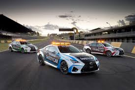 lexus rc coupe actor lexus rc f safety car revealed for v8 supercars gtspirit