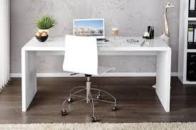 white high gloss desk enzo white high gloss computer pc home executive study office corner