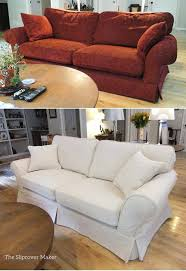 Sofa Slipcovers Sure Fit Canvas Sofa Slipcovers Sure Fit Cvc Slipcover Linen White Couch