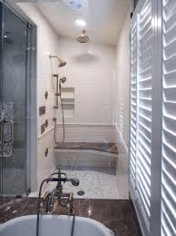 tub shower combo tile ideas view in gallery hall bath