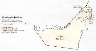 map of the uae free united arab emirates maps