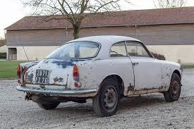 alfa romeo classic for sale 63 alfa romeo barn find is for sale rust included