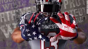 northwestern s special football uniforms some