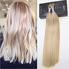 pre bonded hair extensions reviews laavoo highlights color pre bonded micro ring cold