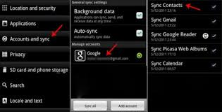 how to import contacts from gmail to android how to sync contacts on android with gmail account