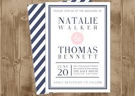 printable bridal shower invitations printable wedding bridal shower invitation in navy and blush pink