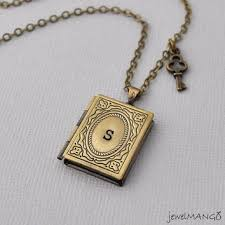 Monogram Key Necklace Personalized Megaphone Necklace Initial From Jewelmango On Etsy