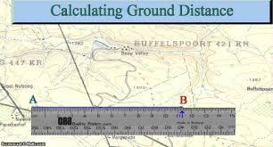 Gvsu Map Mapwork Ground Distance Youtube
