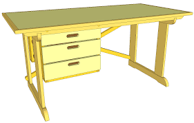Free Woodworking Plans Writing Desk by Free Woodworking Desk Plans With Amazing Minimalist In Us