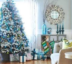 Blue And Silver Christmas Tree - christmas tree decorating ideas you will love