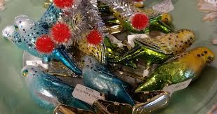 budgie ornament