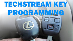lexus rx300 key blank key immobilizer and remote programming using toyota techstream