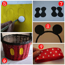 mickey mouse easter basket diy mickey and minnie easter baskets this fairy tale