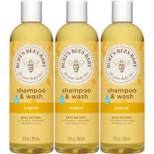 amazon com burt u0027s bees baby shampoo u0026 wash original 12 ounces