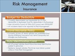 Ohio should i buy travel insurance images Ut fleet safety program two step process 1 risk management jpg
