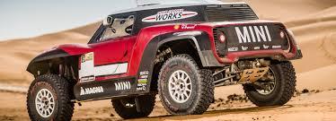 rally mini truck john cooper works buggy rally vehicles ready for dakar 2018