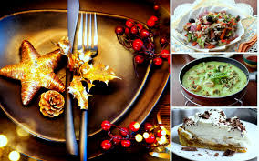 4 course menu for an elegant christmas party by archana u0027s kitchen
