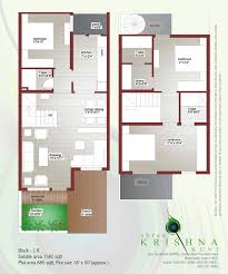 Small Duplex Plans Shree Krishna Kunj