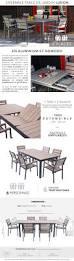 Cdiscount Table De Jardin by Ludon Ensemble De Jardin En Aluminium 6 Places Gris Achat