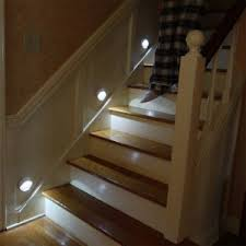 hall and stairs lighting pathlights system home safety elderly stairs hall lights at night