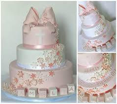u0027s christening cake with big pink bow fishbourne wedding
