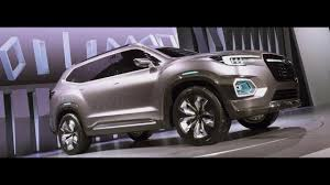subaru tribeca 2015 interior with seven seats in three rows subaru thinks big with its viziv 7