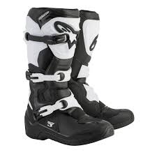 motocross boots youth alpinestars kids mx boots tech 3s youth black white 2018 maciag