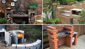 Backyard Bar Ideas Cool Diy Backyard Brick Barbecue Ideas Amazing Diy Interior
