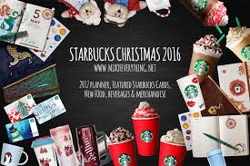 starbucks christmas 2017 planners and everything hello