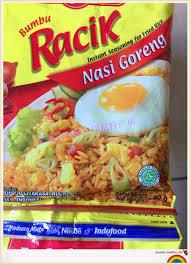 plats cuisin駸 印尼原裝進口醬料indofood racik nasi goreng營多福炒飯調料20g