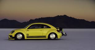 volkswagen beetle modified black modified vw beetle with 543 hp reaches 205 mph at bonneville