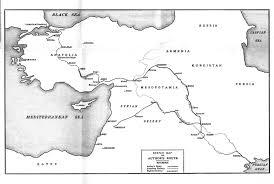 Baghdad Map By Desert Ways To Baghdad