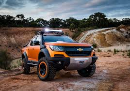 chevrolet captiva modified chevrolet colorado xtreme study previews the global model u0027s facelift