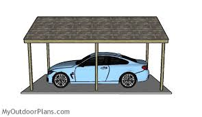 Car Port Plans Simple Carport Plans Myoutdoorplans Free Woodworking Plans And