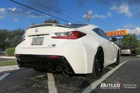 lexus rcf wheels lexus rcf with 22in lexani r twelve wheels exclusively from butler
