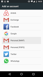 android email configure an email account on android 6 marshmallow help center