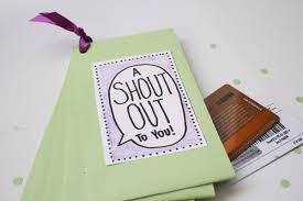 gift card book kids teachers handmade gifts