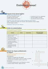 fiche de poste commis de cuisine 1 organiser et gérer poste de travail pdf