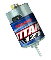 amazon com traxxas 3785 titan 12 turn 550 motor toys u0026 games