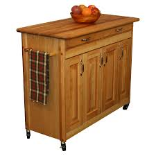 catskill butcher block kitchen island w spice rack catskill model 54220 mobile kitchen island