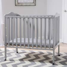 Delta Portable Mini Crib Delta Children Portable Folding Crib With Mattress Grey Babies