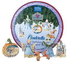 jim shore cinderella ornament set qvc