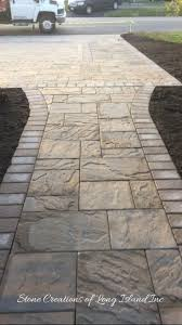 paver walkway design ideas holland stone outdoor living spaces