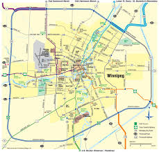 winnipeg map winnipeg area map