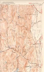 Map Of Northampton Ma Williamsburg Ma Quadrangle