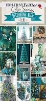 holiday color series decorating with teal teal holiday home