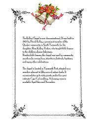 kelley chapel weddings u2014 historical society of old yarmouth