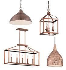 Copper Pendant Lights Kitchen Copper Lantern Pendant Light Lawhornestorage